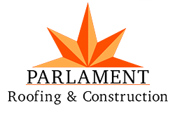 Parlament Roofing & Construction Logo