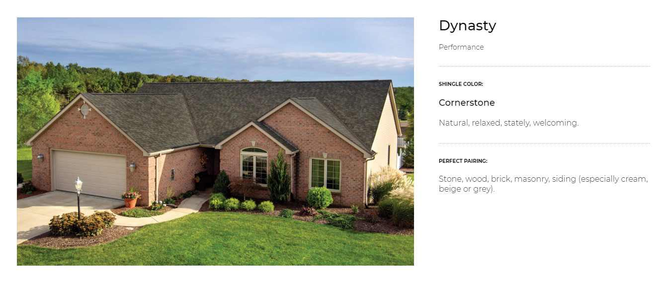 Dynasty® Performance IKO Shingles Parkament Roofing